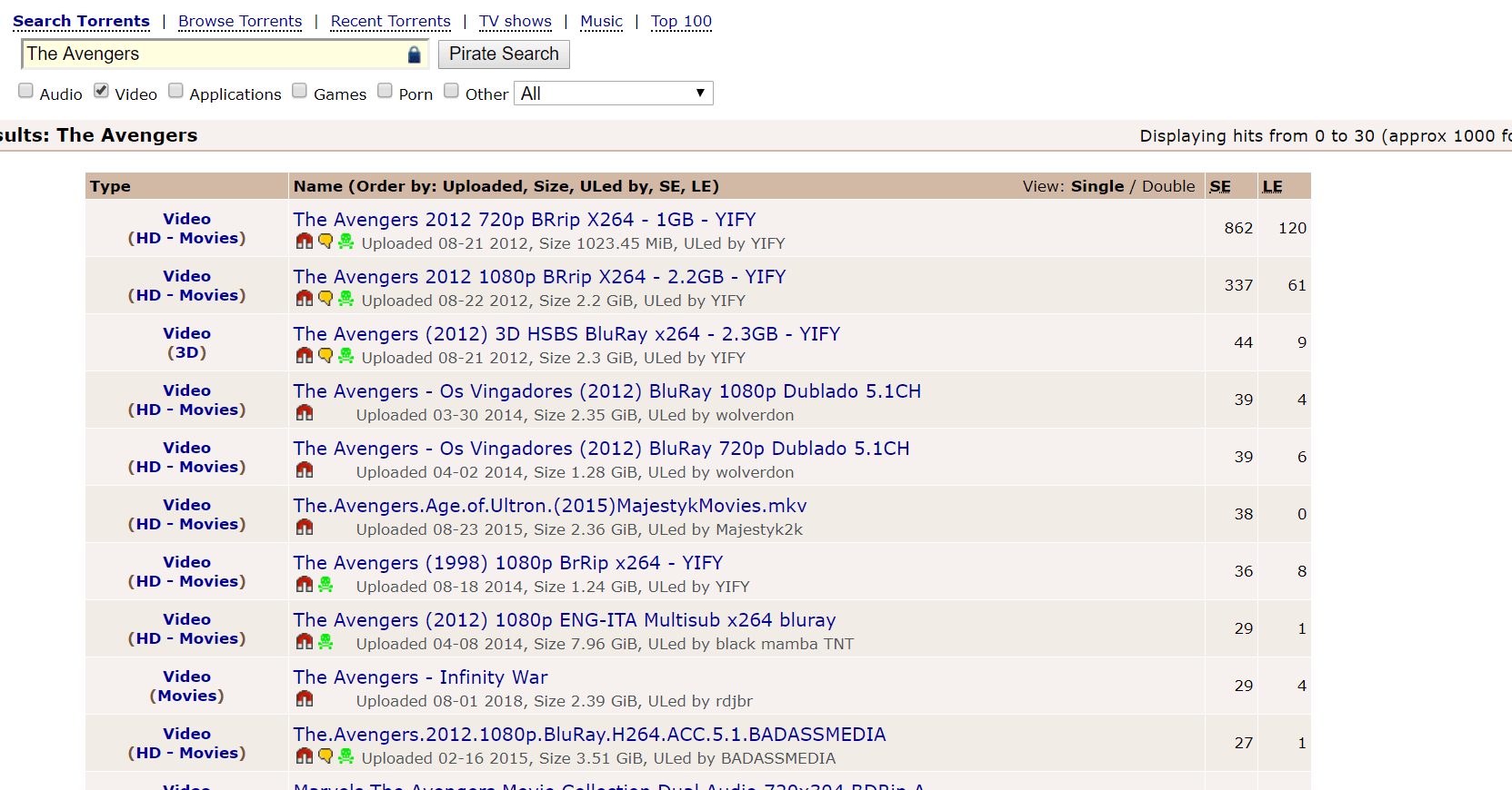 piratebay torrent