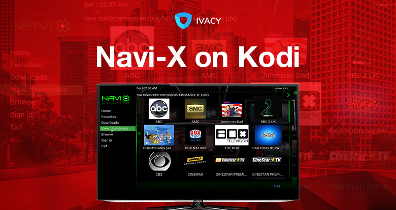 How to install navi x addon on kodi.