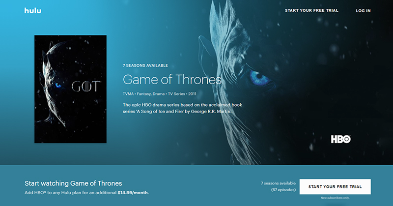 Game-of-Thrones-online-free-on-Hulu