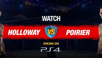 How to Watch UFC 236 On PS4