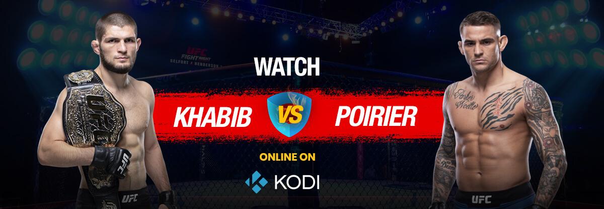 UFC on Kodi   Watch UFC 242 on Kodi for Free (100% Working)