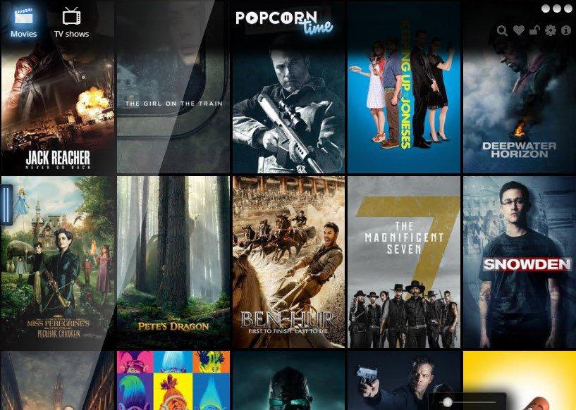 Popcorn Time Mirror Sites