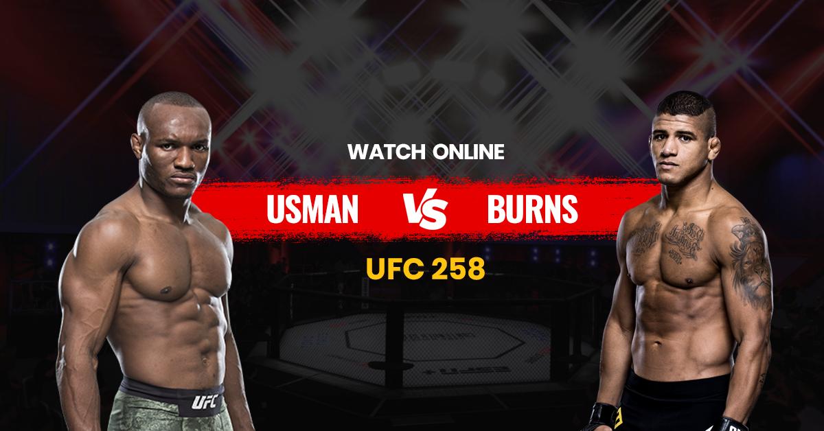 Watch UFC 258 on Best Kodi Addon for Usman vs. Burns - FREE