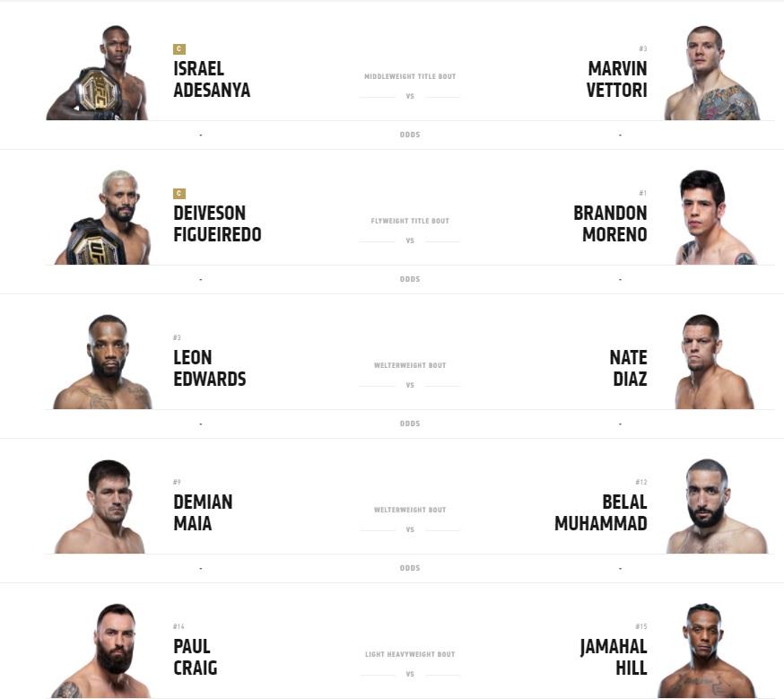 UFC-263-Fight-Card